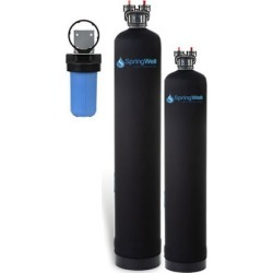 Water Filter and Salt-Free Water Softener - 4-6 Bathrooms
