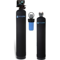 Well Water Filter and Salt-Free Water Softener - 1-3 Bathrooms