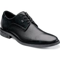 Barstow Stacy Adams Men's Barstow Plain Toe Leather and Suede Modern Casual Oxford found on Bargain Bro India from Stacy Adams for $49.90