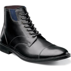 Dowling Stacy Adams Men's Dowling Cap Toe Leather Modern Casual Boot found on Bargain Bro India from Stacy Adams for $49.90