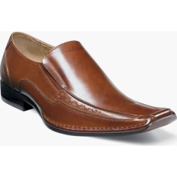 Templin Stacy Adams Men's Templin Bicycle Toe Leather Modern Dress Slip On found on Bargain Bro India from Stacy Adams for $90.00