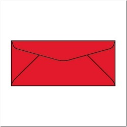 #10 Bright Colored Envelopes, 4-1/8