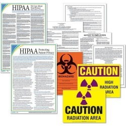 Comply Right Illinois Healthcare Posters Kit. - 1 set per Pack