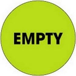 """2"""" Diameter Empty Circle Labels (500 per Roll)"""