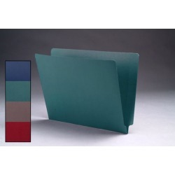 11pt Dark Green Cheshire Linen Folders, Full Cut 2-Ply END TAB, Letter Size (Box of 50) found on Bargain Bro India from The Supplies Shop for $72.04