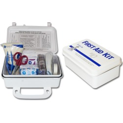 Plastic 10 Man First Aid Kit (Sold Individually)