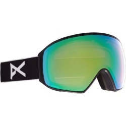 Anon M4 Toric Goggles + MFI Face Mask & Bonus Lens - black/perceive variable green + perceive cloudy pink lens found on Bargain Bro India from tactics.com dynamic for $299.95