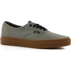 Vans Authentic Skate Shoes - (gum) shadow/trekking green 7