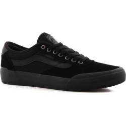 Vans Chima Pro 2 Skate Shoes - (suede) blackout 13