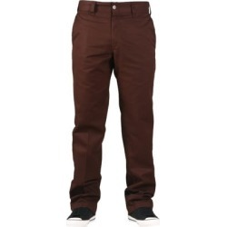 Dickies Industrial Slim Straight Work Pants - chocolate brown 29x32 found on Bargain Bro India from tactics.com dynamic for $39.95