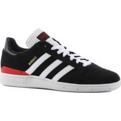Adidas Busenitz Pro Skate Shoes - black/white/scarlet 10