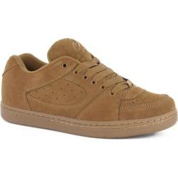 eS Accel OG Skate Shoes - brown/gum 10.5
