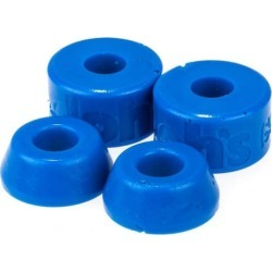 Shortys Doh Doh's Quad Pack Skate Bushings (2 Truck Set) - blue 88a