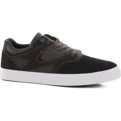 DC Shoes Kalis Vulc S Skate Shoes - grey/black 10