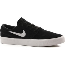 Nike SB Zoom Stefan Janoski RM Skate Shoes - black/white-thunder grey-gum light brown 9