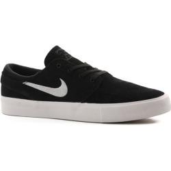 Nike SB Zoom Stefan Janoski RM Skate Shoes - black/white-thunder grey-gum light brown 10