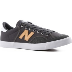 New Balance Pro Court 212 Skate Shoes - grey/yellow 9