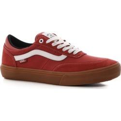 Vans Gilbert Crockett Pro 2 Skate Shoes - (gum) mineral red/true white 13