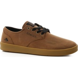Emerica Romero Laced Skate Shoes - brown/black/tan 13