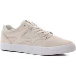 DC Shoes Kalis Vulc Skate Shoes - grey/white/grey 11.5 found on MODAPINS from tactics.com dynamic for USD $64.95