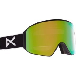 Anon M4 Cylindrical Goggles + MFI Face Mask & Bonus Lens - black/perceive variable green + perceive cloudy pink lens found on Bargain Bro Philippines from tactics.com dynamic for $299.95