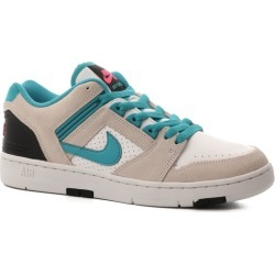 Nike SB Air Force II Skate Shoes - (miami nights) white/teal nebula-black-pink flash 9.5