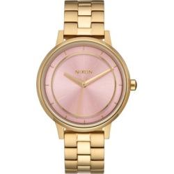 Nixon Kensington Watch - light gold/pink