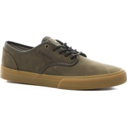 Emerica Wino Standard Skate Shoes - (full grain leather) olive/gum 10.5 found on MODAPINS from tactics.com dynamic for USD $79.95