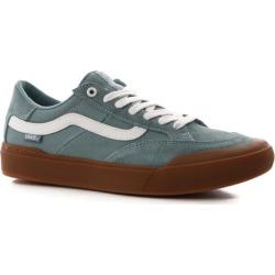 Vans Berle Pro Skate Shoes - (gum) smoke blue 10