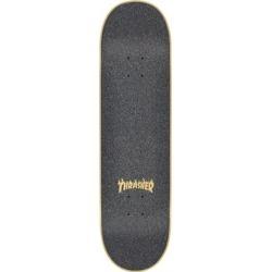 MOB GRIP Thrasher Flame Logo Laser Cut Skateboard Grip Tape - 9in x 33in