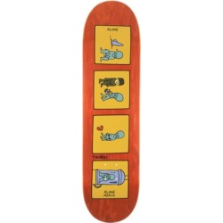 Theories Alone Again 8.25 Skateboard Deck - orange 8.25 found on Bargain Bro Philippines from tactics.com dynamic for $56.95