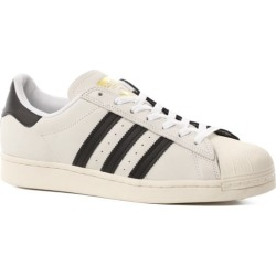 Adidas Superstar Skate Shoes - (split) footwear white/core black/gold metallic 12 found on Bargain Bro from tactics.com dynamic for USD $60.76