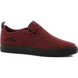 Lakai Riley 2 Skate Shoes - burgundy/black sole 8