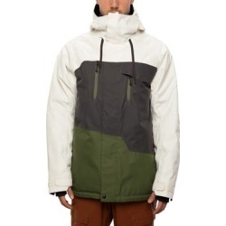 686 Geo Insulated Jacket - birch wash colorblock L found on MODAPINS from tactics.com dynamic for USD $219.95