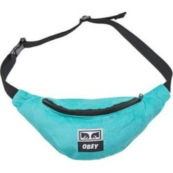 Obey Wasted Hip Bag - teal cord