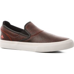 Emerica Wino G6 Slip-On Shoes - (zach allen) black/red/white 10 found on MODAPINS from tactics.com dynamic for USD $64.95