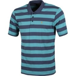 Brixton Hilt Polo Shirt - aqua/washed navy M found on MODAPINS from tactics.com dynamic for USD $38.95