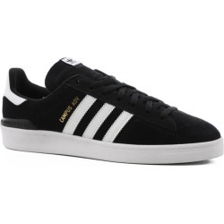 Adidas Campus ADV Skate Shoes - black/white/white 10.5 found on Bargain Bro Philippines from tactics.com dynamic for $79.95