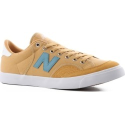 New Balance Pro Court 212 Skate Shoes - yellow/stone blue 12