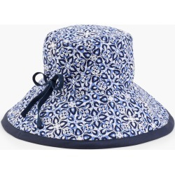 Packable Mosaic Hat - Ink - 001 - 100% Cotton Talbots found on Bargain Bro from Talbots for USD $45.22