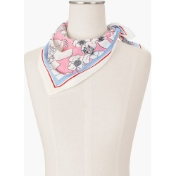 Floral Neckerchief - Ivory - 001 - 100% Cotton Talbots found on Bargain Bro India from Talbots for $14.99