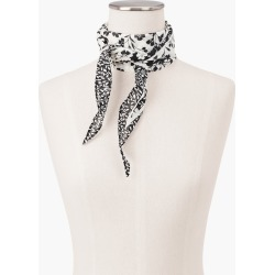 Diamond Mixed Floral Scarf - Ink - 001 - 100% Cotton Talbots found on Bargain Bro Philippines from Talbots for $14.99