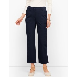 Patch Pocket Crop Chinos Pants - Blue - 2 Talbots found on Bargain Bro India from Talbots for $41.99