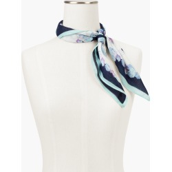 Square Bordeaux Paisley Scarf - Ivory - 001 Talbots found on Bargain Bro from Talbots for USD $30.02
