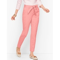 Tie Waist Chinos Pants - Dusty Peach - 16 Talbots found on Bargain Bro India from Talbots for $44.99