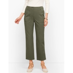 Patch Pocket Crop Chinos Pants - Rosemary - 4 Talbots found on Bargain Bro India from Talbots for $41.99