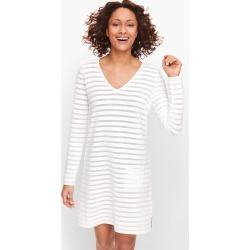 V-Neck Cover Up - Solid - White - XS Talbots found on Bargain Bro from Talbots for USD $60.42