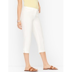 Perfect Skimmers Pants - Solid - White - 2 Talbots found on Bargain Bro from Talbots for USD $60.42