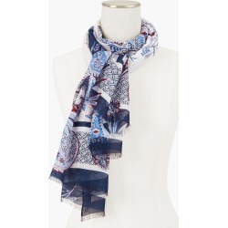 Winding Paisley Oblong Scarf - Ivory - 001 Talbots found on Bargain Bro from Talbots for USD $34.19