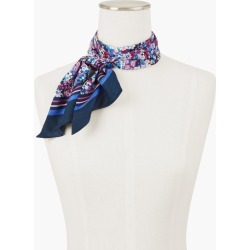 Silk Ditsy Floral Rectangle Scarf - Ivory - 001 Talbots found on Bargain Bro from Talbots for USD $26.59